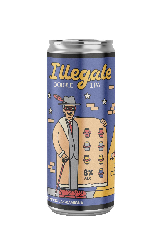 Birra La Gramigna - Illegale