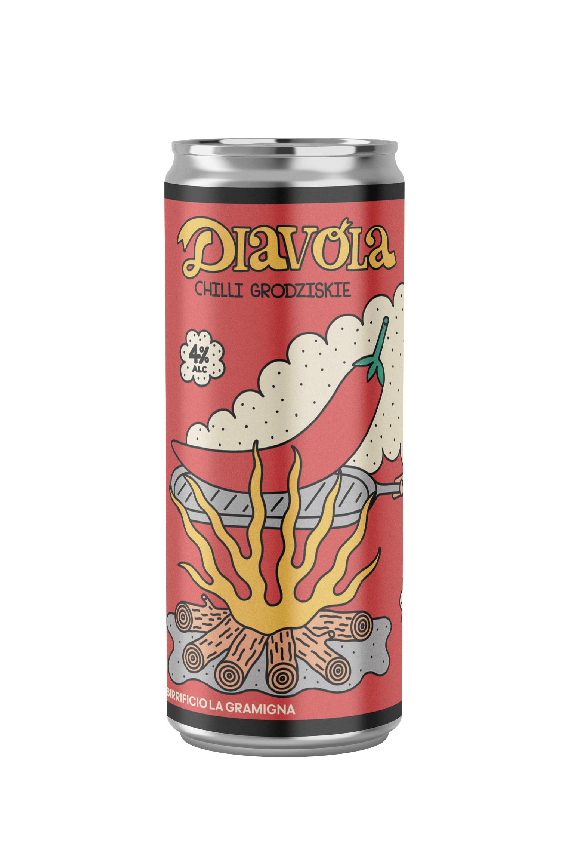 Birra La Gramigna - Diavola